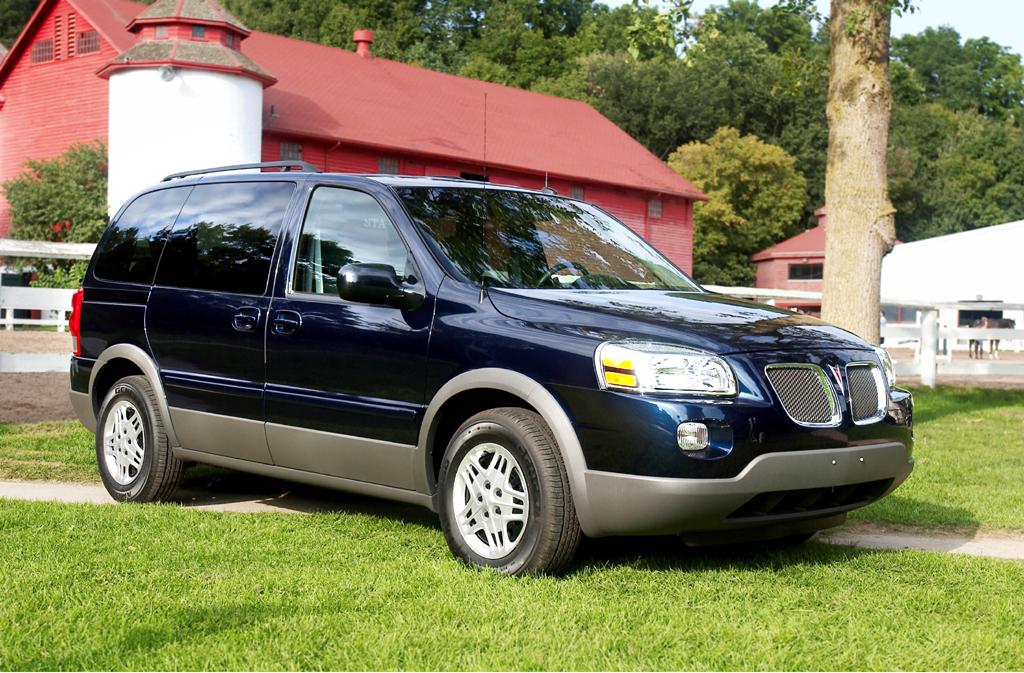 Best Family Vehicle >> 2005-06 Pontiac Montana SV6 | Consumer Guide Auto