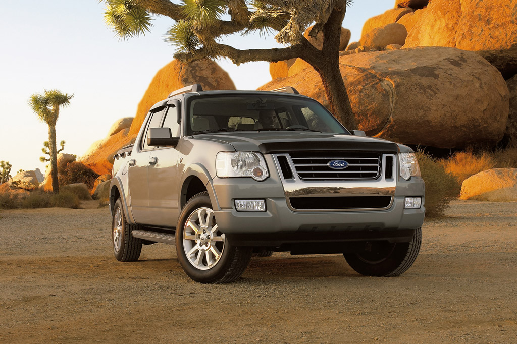 Ford Explorer Pickup >> 2007-10 Ford Explorer Sport Trac | Consumer Guide Auto