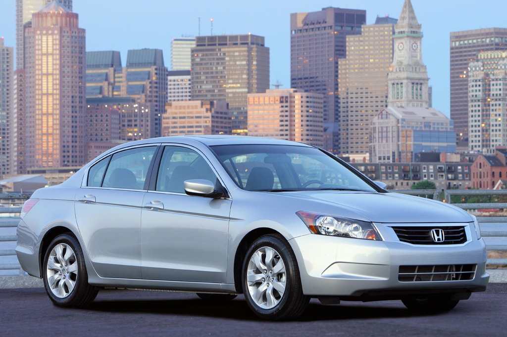 2008 Honda Accord Sedan Front