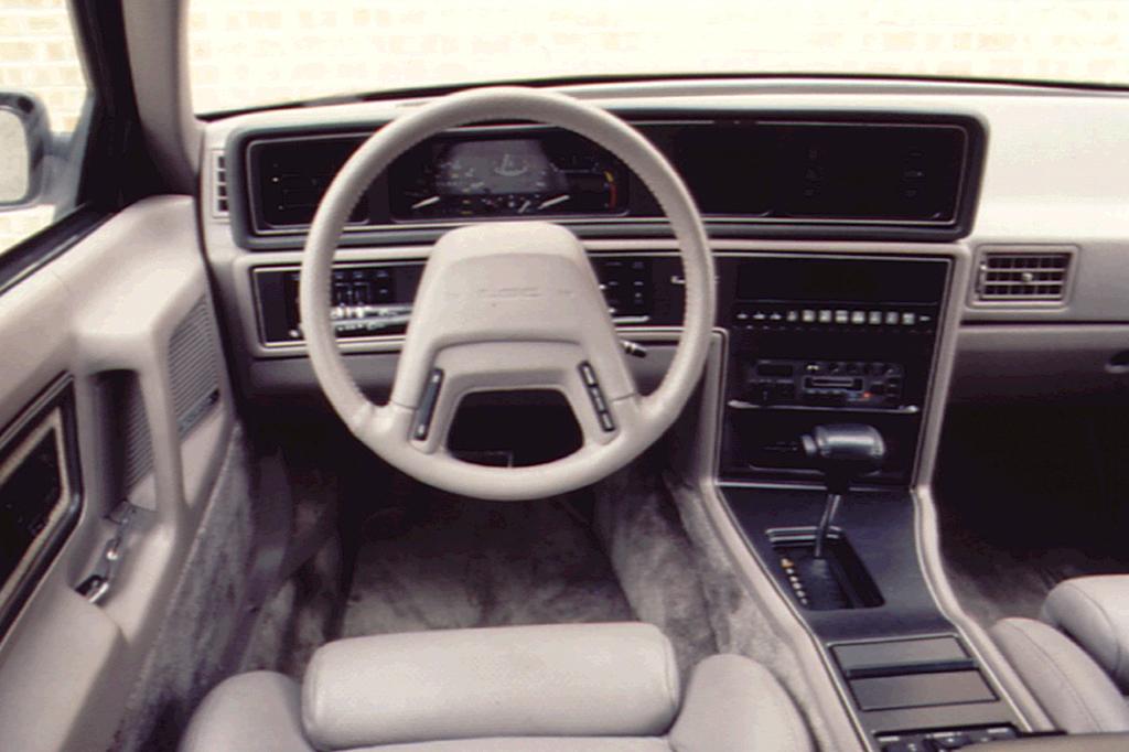 1990 92 Lincoln Mark Vii Consumer Guide Auto