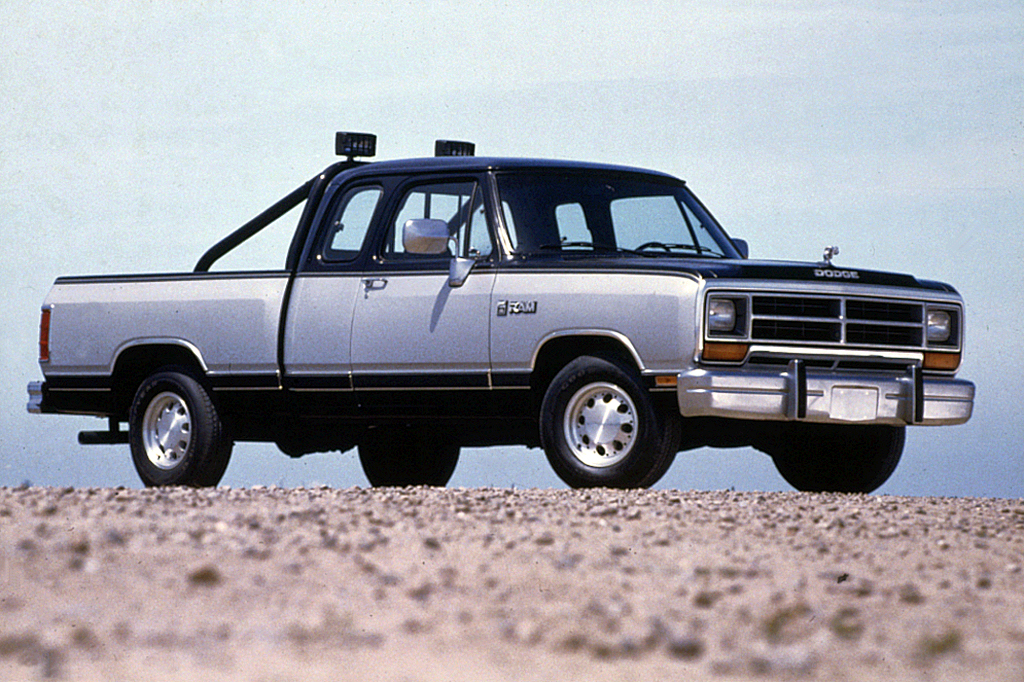1985 dodge power ram mpg
