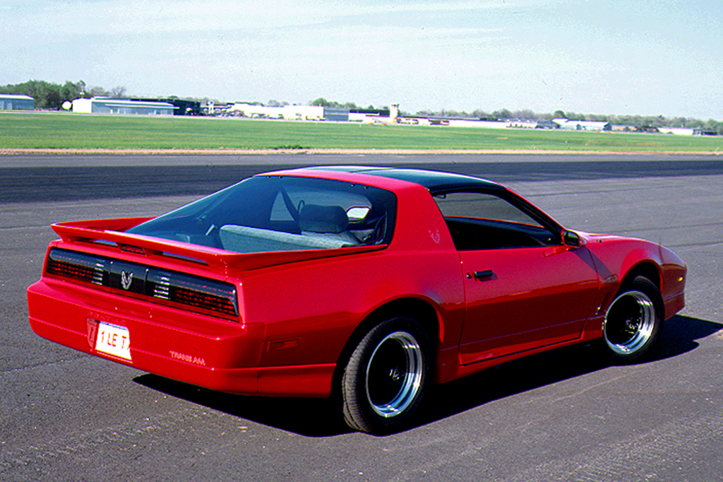 1990 Pontiac Firebird Trans Am 2 Door Hatchback