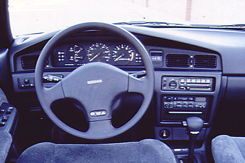 on 1991 Nissan Sentra Gxe