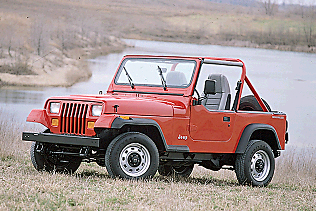 Jeep Certified Pre Owned >> 1990-95 Jeep Wrangler | Consumer Guide Auto