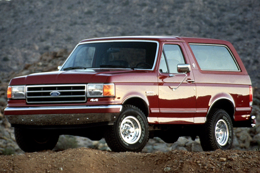 Extended Warranty For Used Cars >> 1990-96 Ford Bronco | Consumer Guide Auto