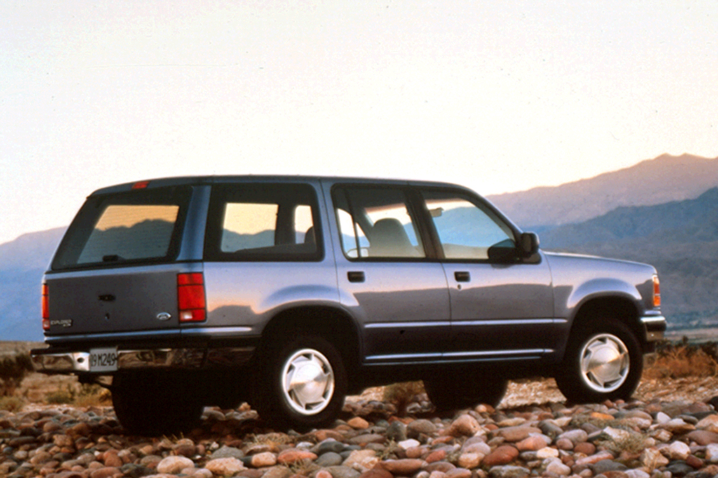1991 ford explorer 4-door wagon