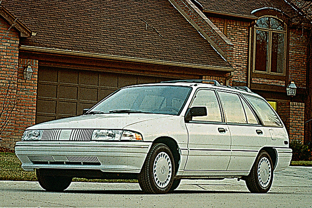 Other Car Manuals 91 1991 Mercury Tracer owners manual Vehicle ...