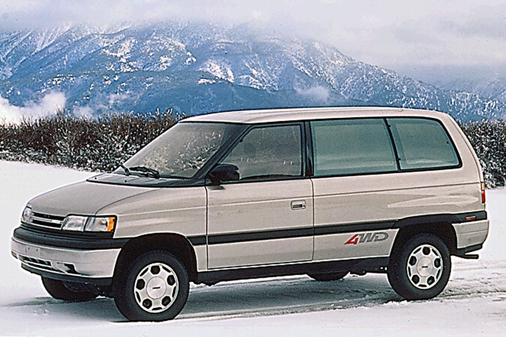 Best Car Warranty >> 1990-98 Mazda MPV | Consumer Guide Auto