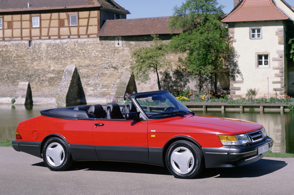 1991 Saab 900 2 Door Convertible