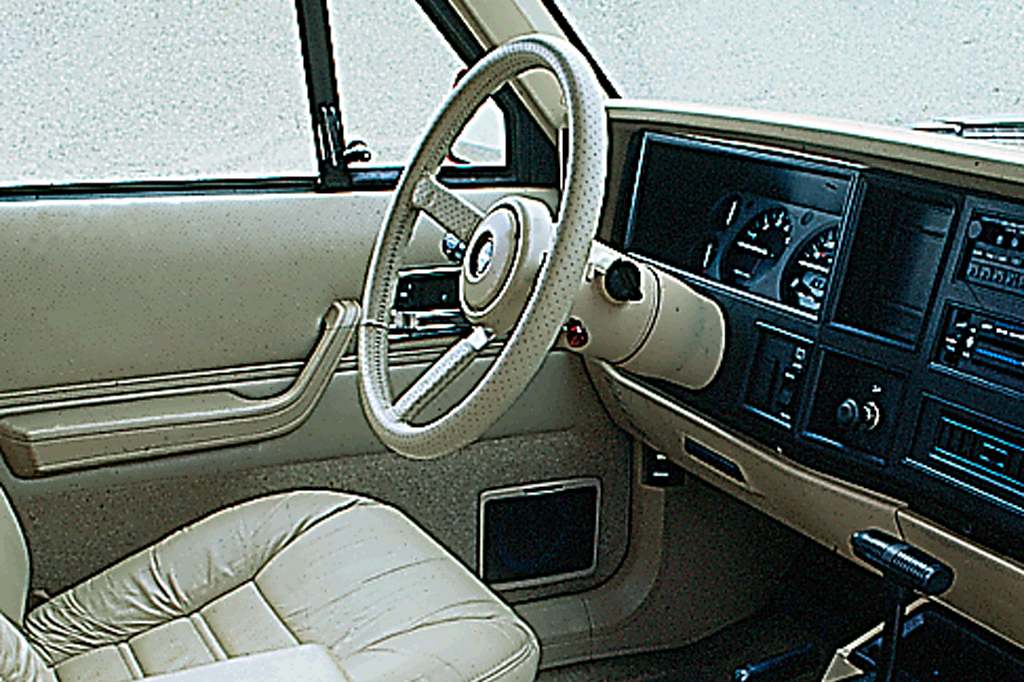 on 1995 Jeep Grand Cherokee 5 2