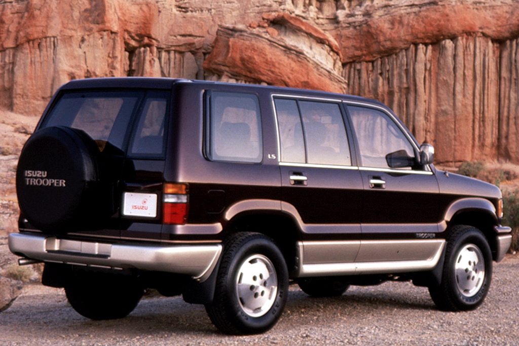 1992-02 Isuzu Trooper | Consumer Guide Auto