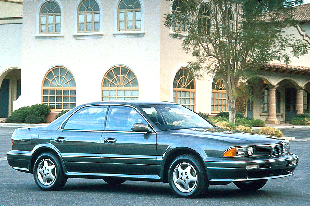Certified Used Cars >> 1992-96 Mitsubishi Diamante | Consumer Guide Auto