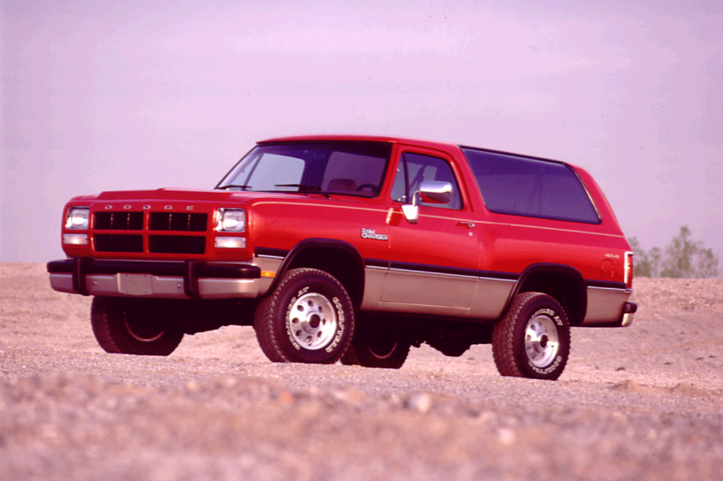 2 Door Charger >> 1990-93 Dodge Ramcharger | Consumer Guide Auto
