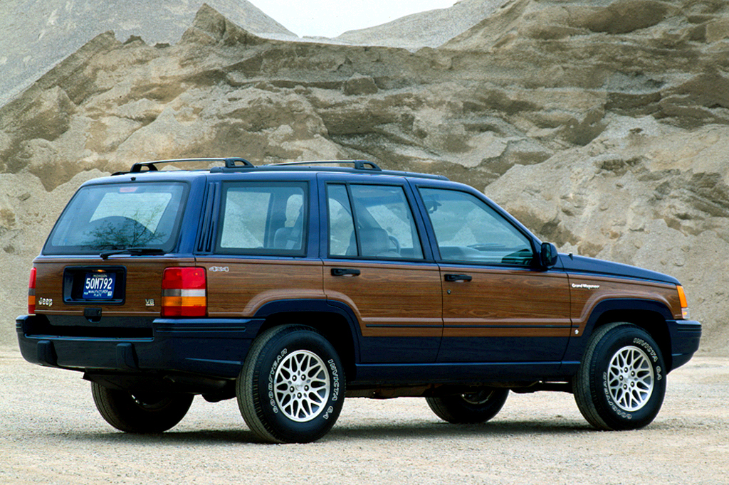1993 Jeep Grand Cherokee Wagoneer 1996