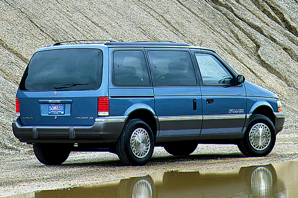 94 1994 Plymouth Voyager owners manual