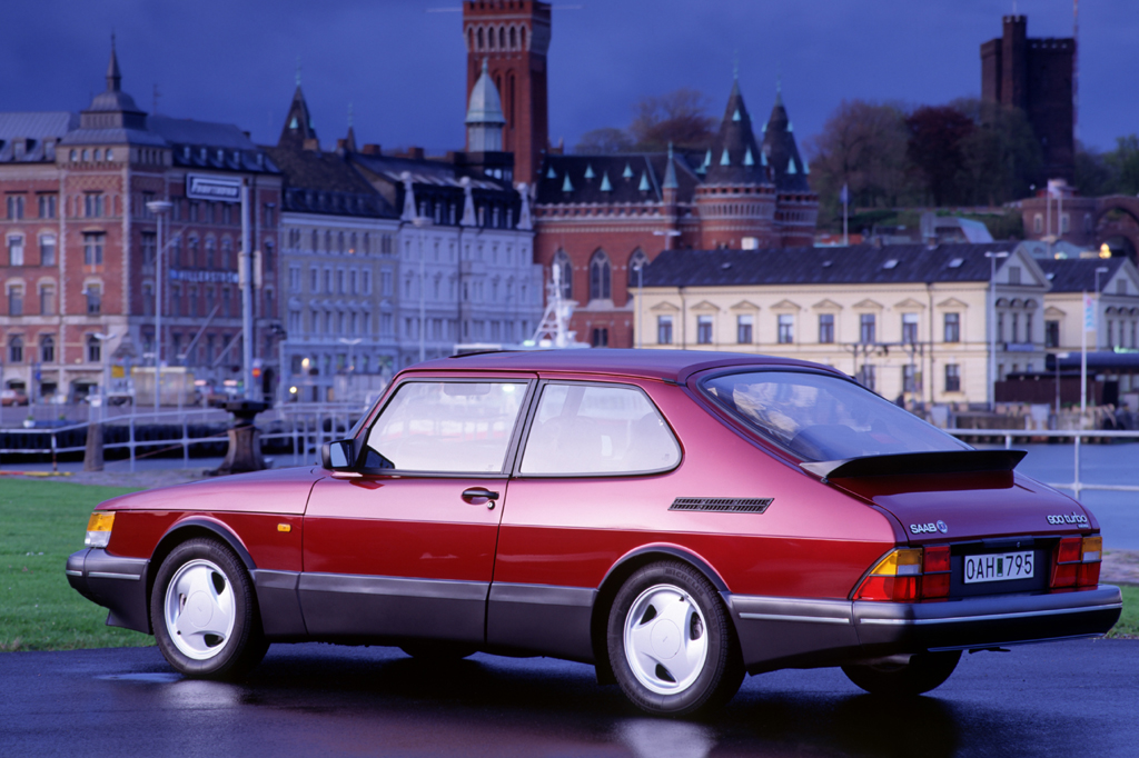 1993 saab 900 turbo 2-door hatchback
