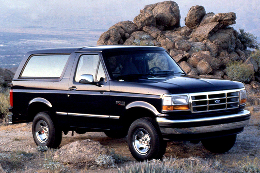 ford bronco 1988 mpg