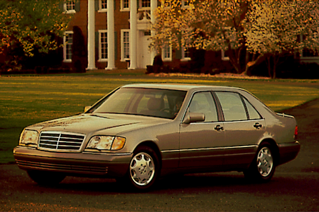 1992 99 mercedes benz s class consumer guide auto. Black Bedroom Furniture Sets. Home Design Ideas