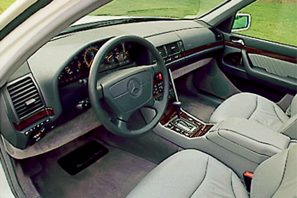 1995 mercedes s600 coupe review