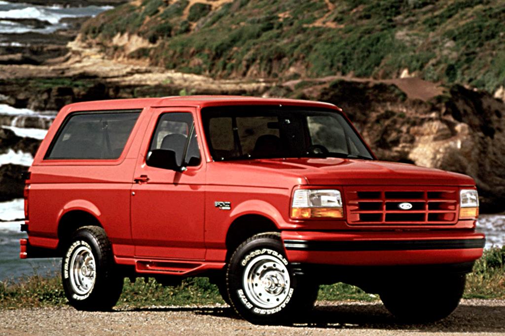 1990-96 Ford Bronco | Consumer Guide Auto