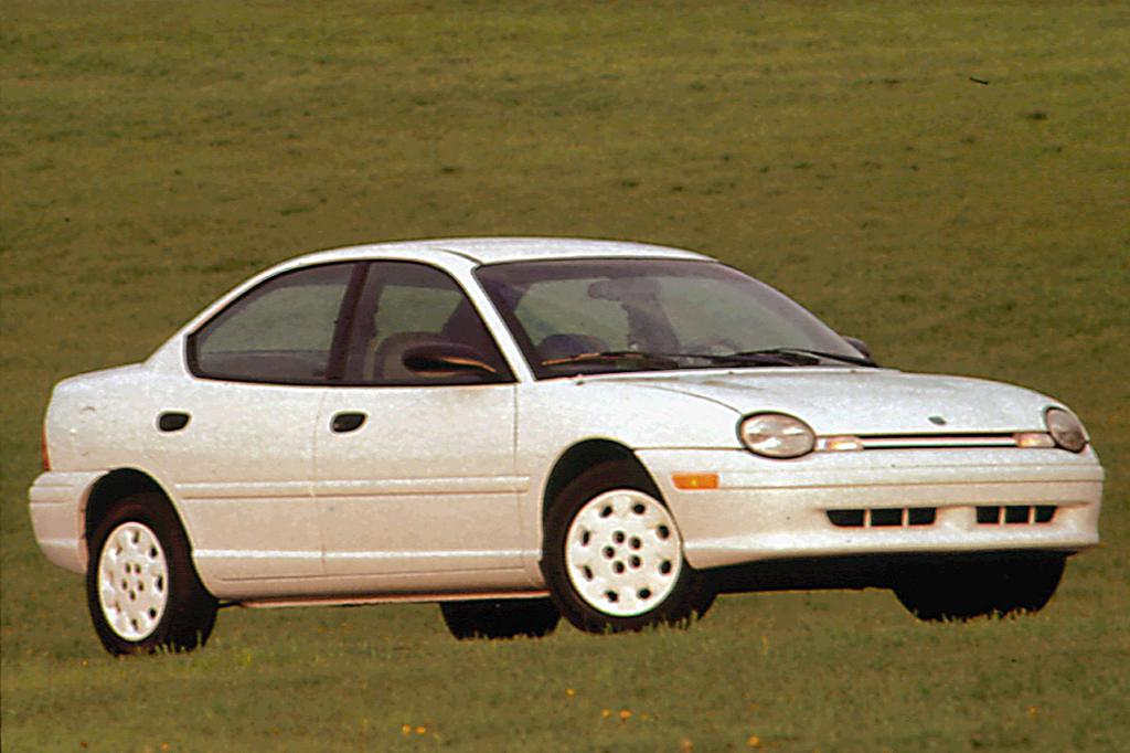 1997 dodge neon highline 4-door sedan