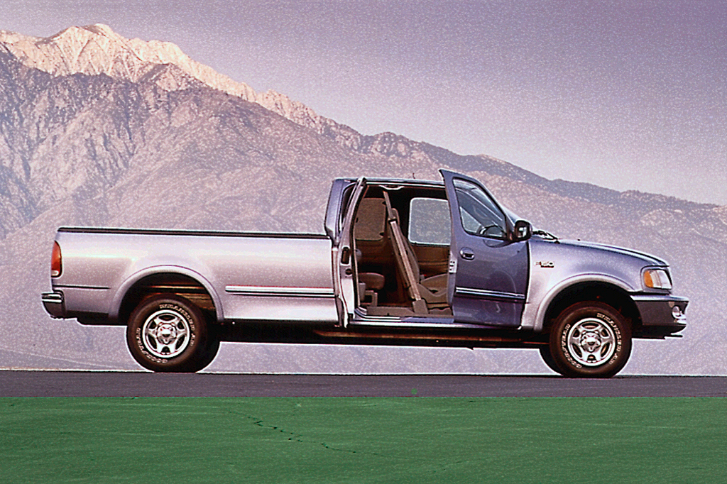 1997 ford f150 supercab gas mileage