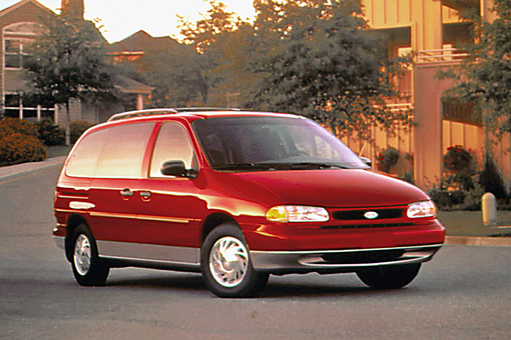 Ford Cargo Van For Sale >> 1995-98 Ford Windstar | Consumer Guide Auto