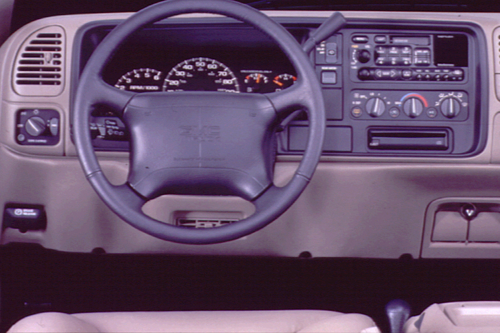 1999 Chevy Suburban Interior Dimensions