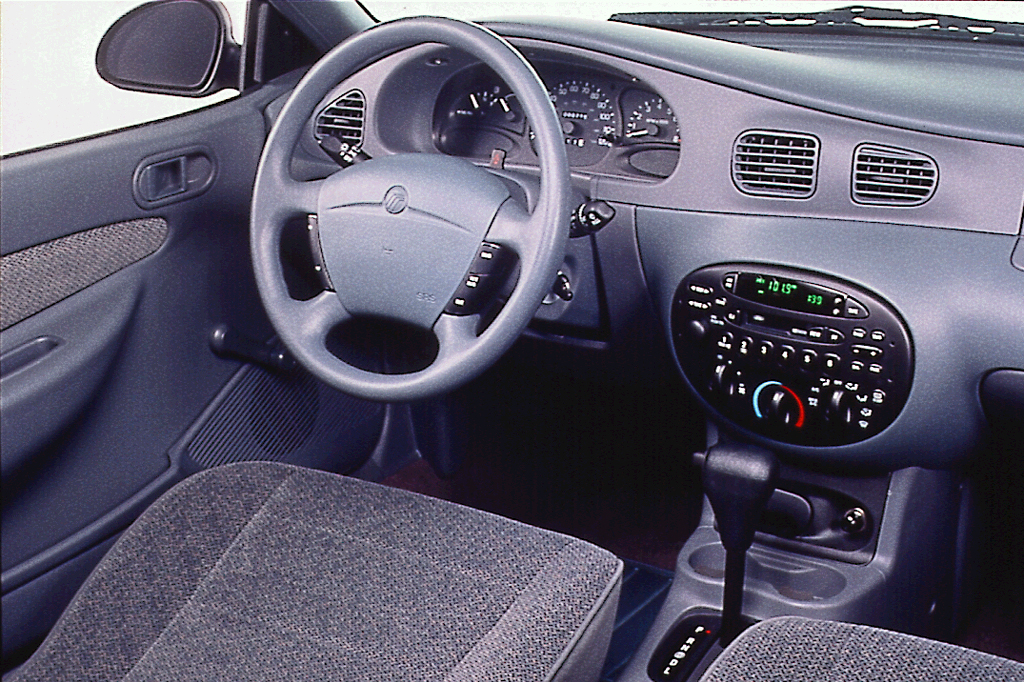 1997 mercury tracer interior