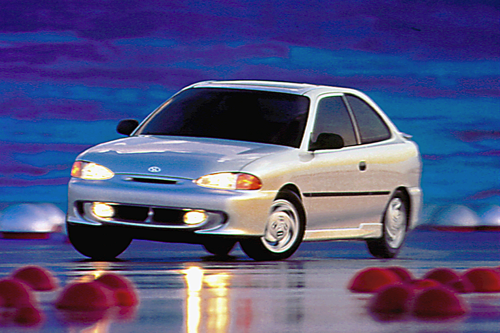 1997 hyundai accent gt 2-door coupe