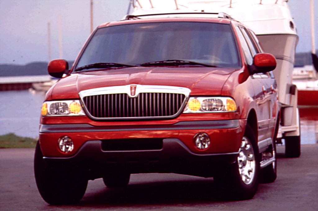 2000 lincoln navigator weight capacity