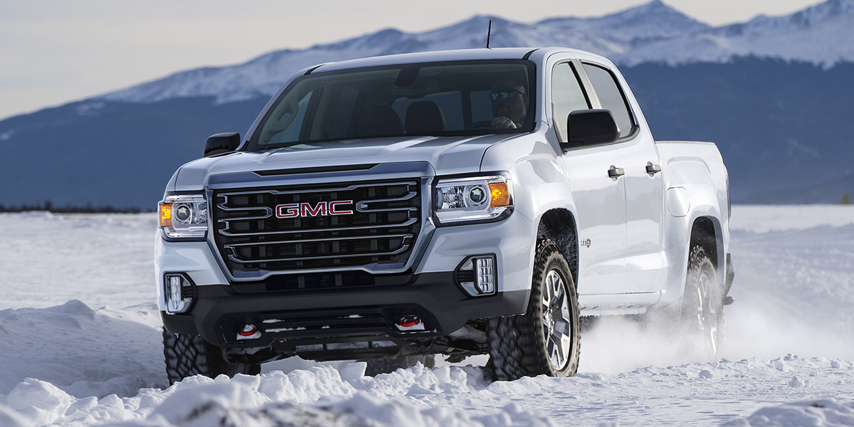 GMC Canyon AT4