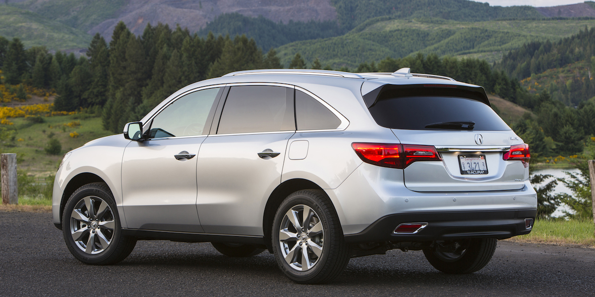 2016 acura mdx best buy review consumer guide auto. Black Bedroom Furniture Sets. Home Design Ideas