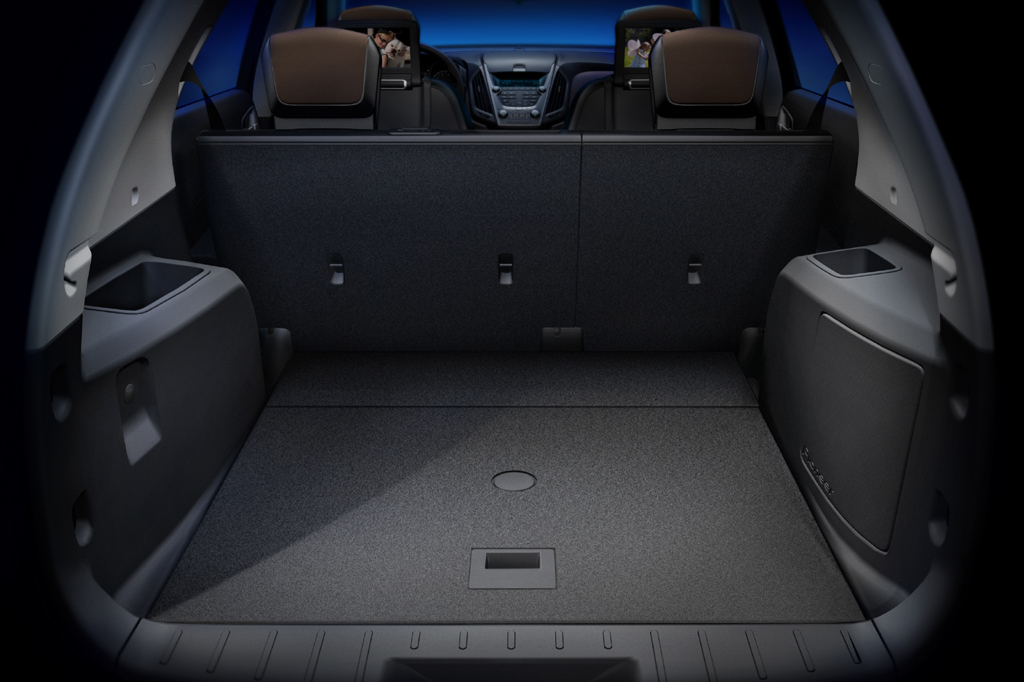 Car Trunk Storage >> 2010-15 Chevrolet Equinox | Consumer Guide Auto