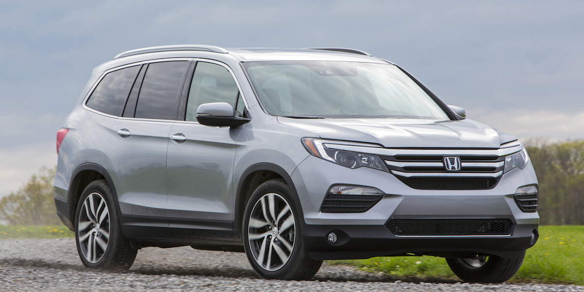 2017 Honda Pilot Best Buy