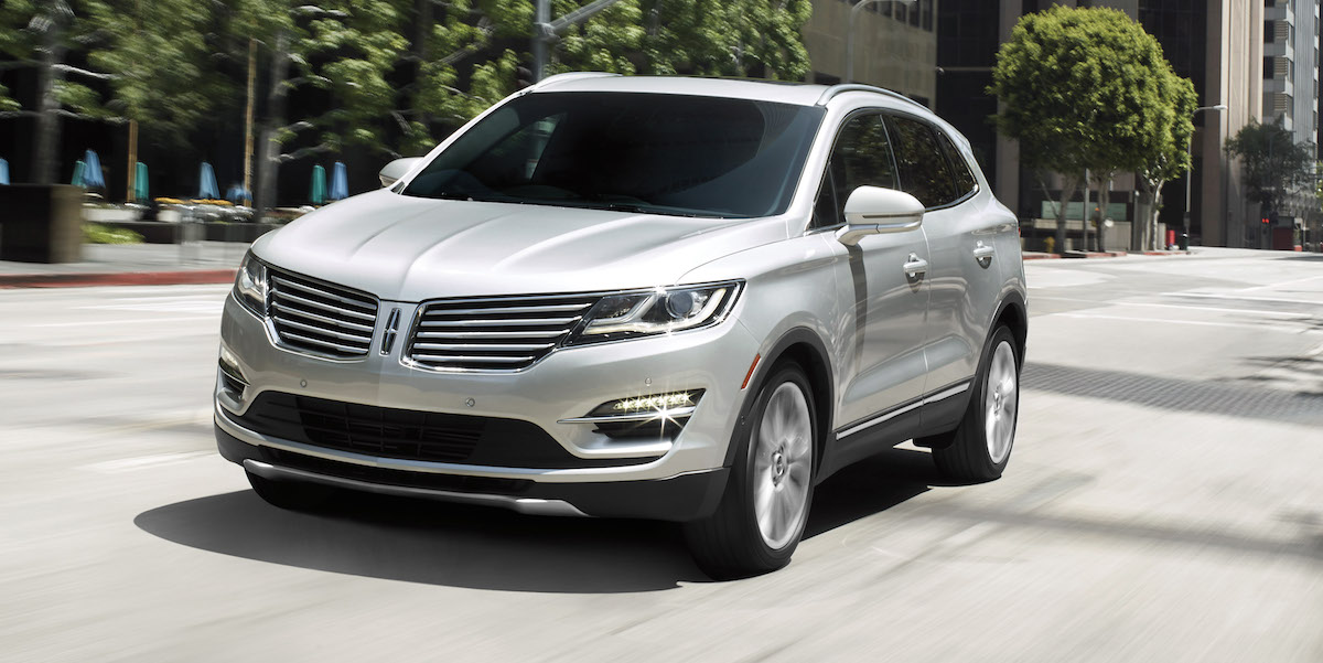 2017 Lincoln MKC Best Buy