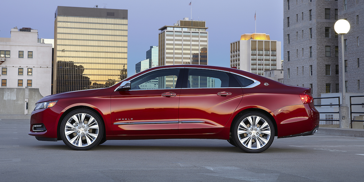 Best Extended Auto Warranty >> 2017 Chevrolet Impala Best Buy Review | Consumer Guide Auto