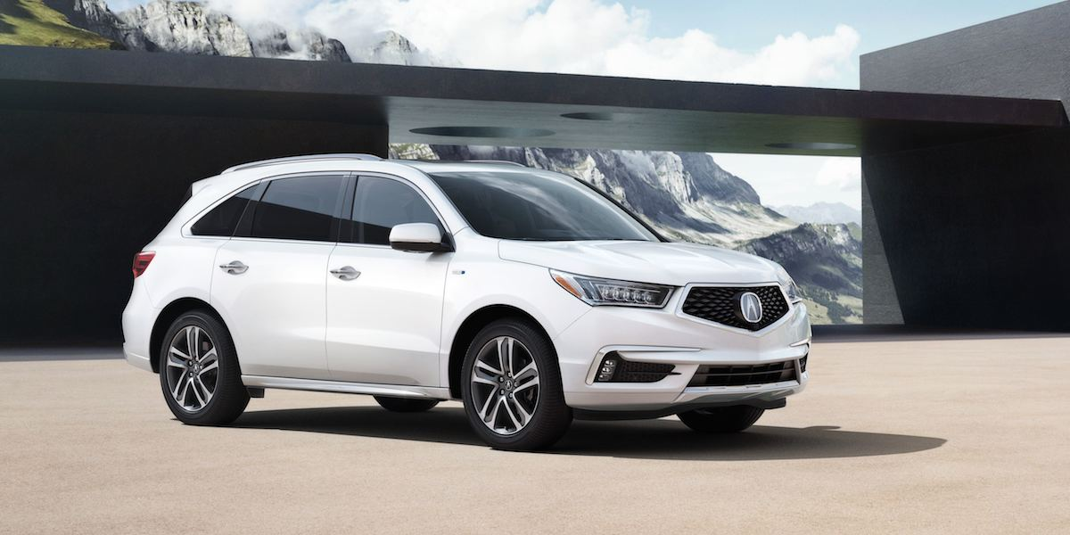 2017 Acura MDX Best Buy