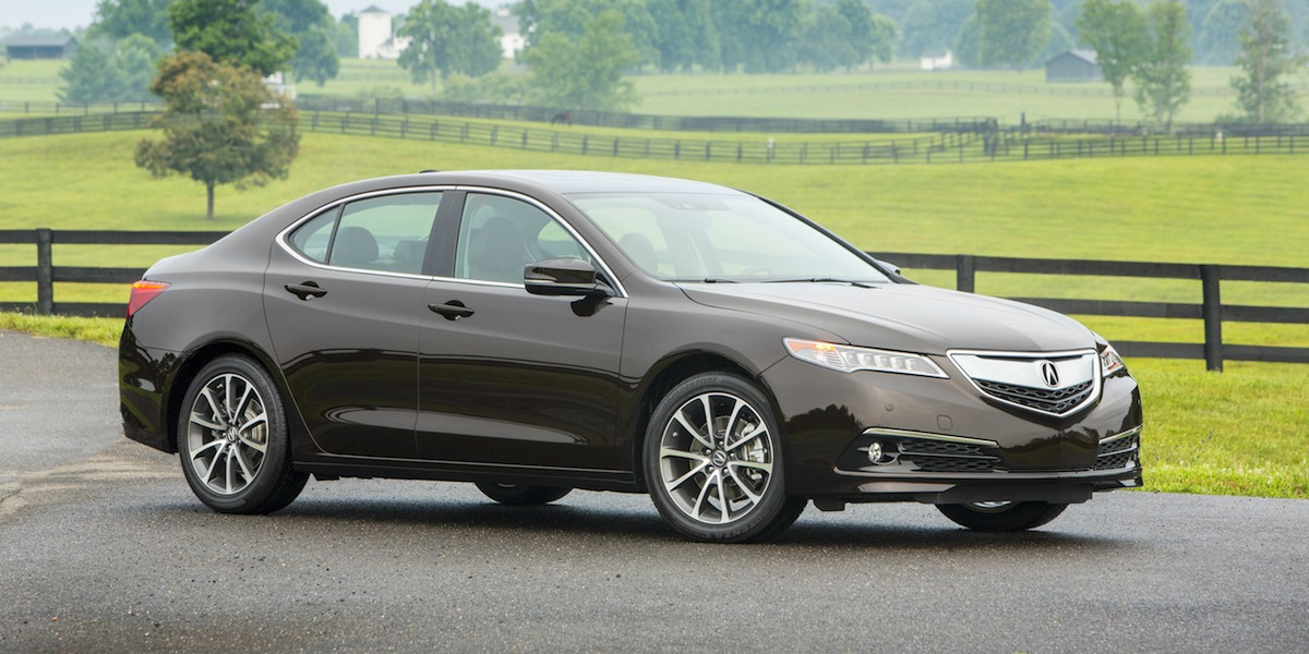 2017 Acura TLX Best Buy