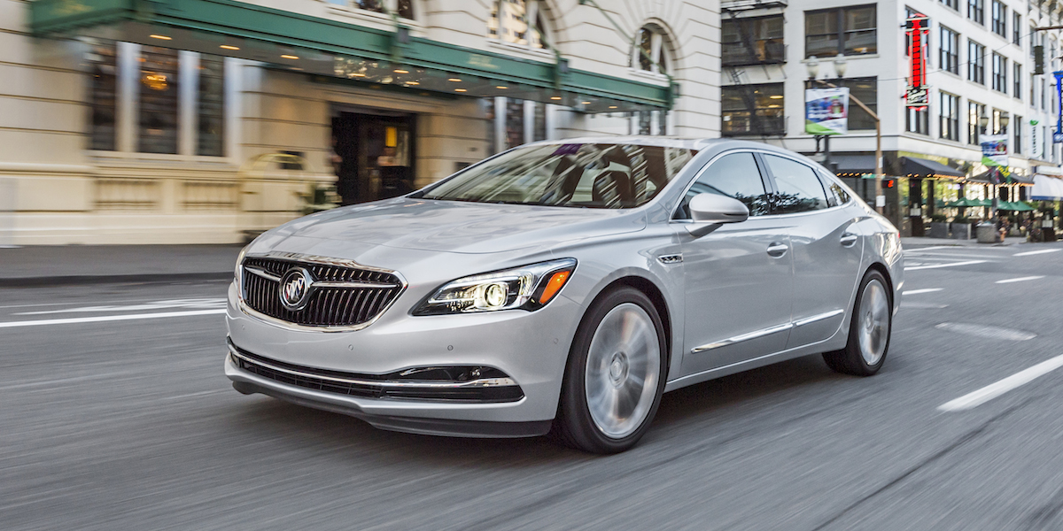 2017 Buick LaCrosse Best Buy