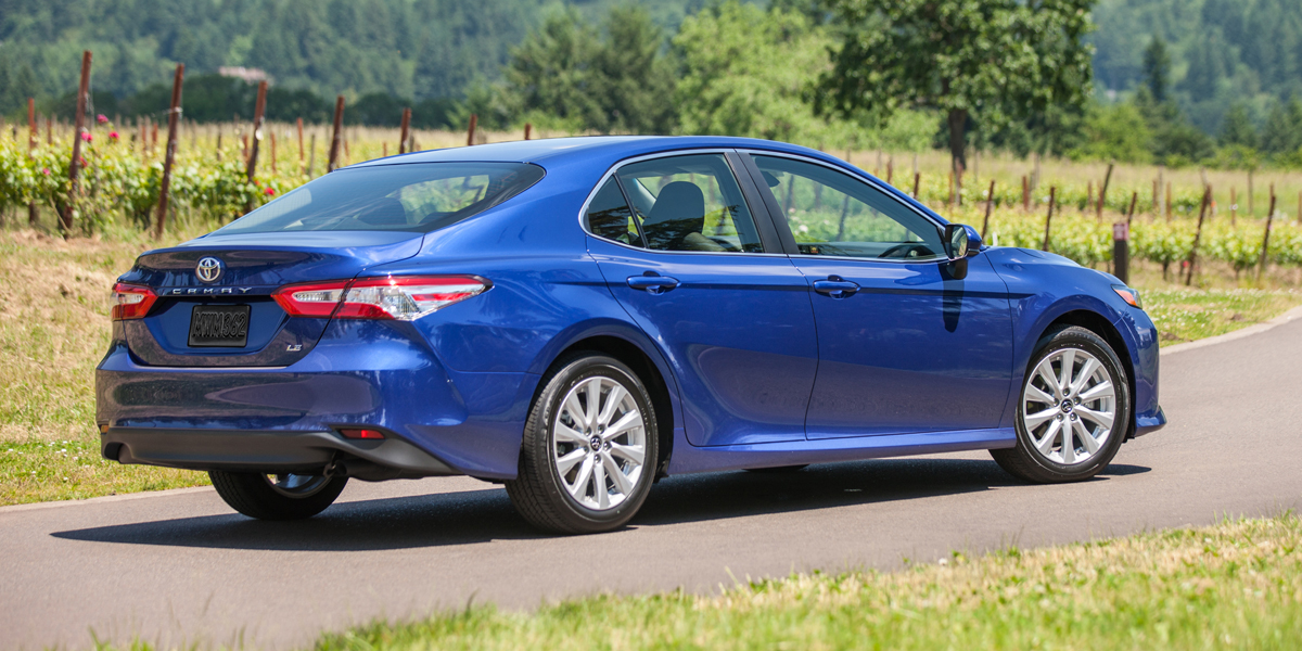 Toyota Certified Pre-Owned >> 2018 Toyota Camry Best Buy Review | Consumer Guide Auto