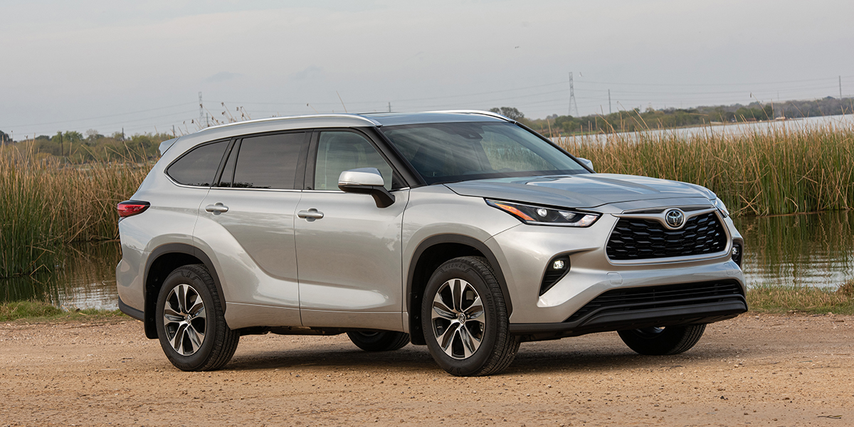 2021 Toyota Highlander Best Buy Review   Consumer Guide Auto